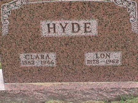 HYDE, LON - Henry County, Iowa | LON HYDE
