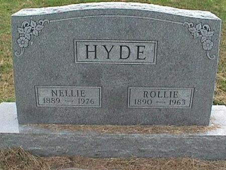 HYDE, ROLLIE - Henry County, Iowa   ROLLIE HYDE