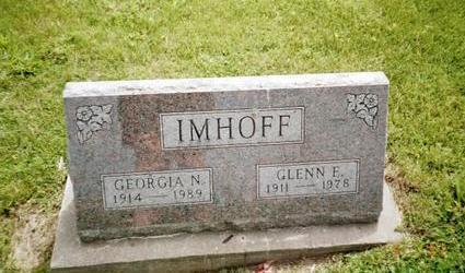 IMHOFF, GLENN E. - Henry County, Iowa | GLENN E. IMHOFF