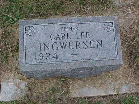 INGWERSEN, CARL - Henry County, Iowa | CARL INGWERSEN