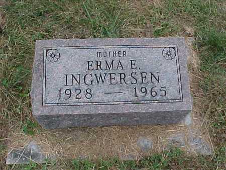 INGWERSEN, ERMA E. - Henry County, Iowa | ERMA E. INGWERSEN