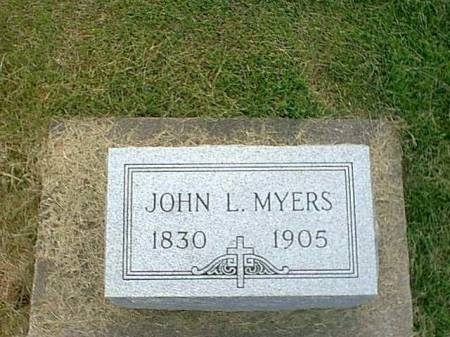 MYERS, JOHN LEWIS JR. - Henry County, Iowa | JOHN LEWIS JR. MYERS