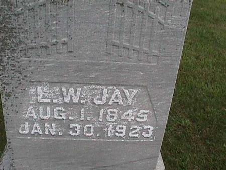 JAY, L. W. - Henry County, Iowa | L. W. JAY