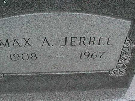 JERREL, MAX A. - Henry County, Iowa | MAX A. JERREL