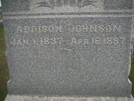 JOHNSON, ADDISON - Henry County, Iowa | ADDISON JOHNSON