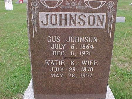JOHNSON, GUS - Henry County, Iowa | GUS JOHNSON
