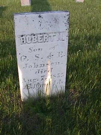 JOHNSON, HUBERT - Henry County, Iowa   HUBERT JOHNSON