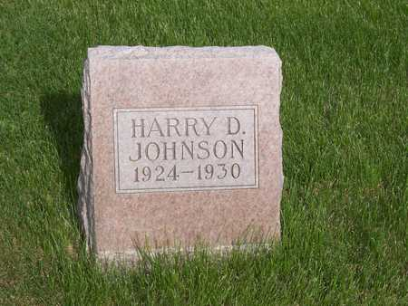 JOHNSON, HARRY D. - Henry County, Iowa | HARRY D. JOHNSON