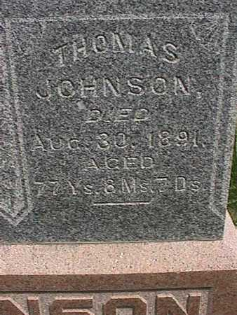 JOHNSON, THOMAS - Henry County, Iowa | THOMAS JOHNSON