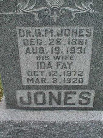 JONES, IDA FAY - Henry County, Iowa | IDA FAY JONES