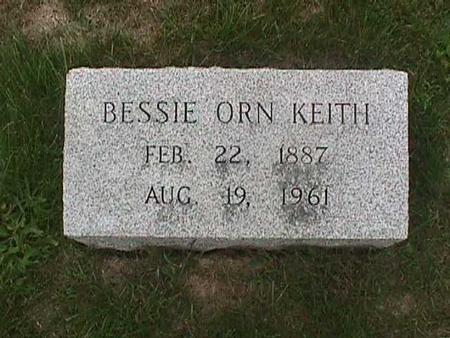 KEITH, BESSIE - Henry County, Iowa | BESSIE KEITH