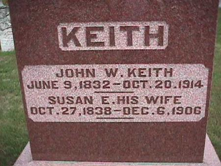KEITH, SUSAN - Henry County, Iowa | SUSAN KEITH