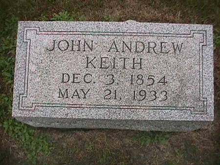 KEITH, JOHN ANDREW - Henry County, Iowa | JOHN ANDREW KEITH