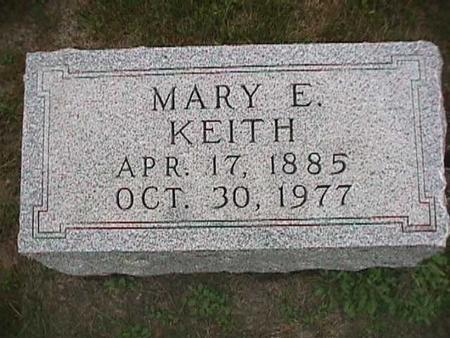 KEITH, MARY E. - Henry County, Iowa | MARY E. KEITH