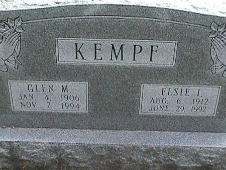KEMPF, GLEN M - Henry County, Iowa | GLEN M KEMPF
