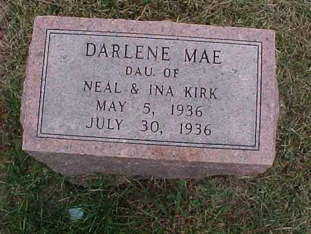 KIRK, DARLENE MAE - Henry County, Iowa | DARLENE MAE KIRK