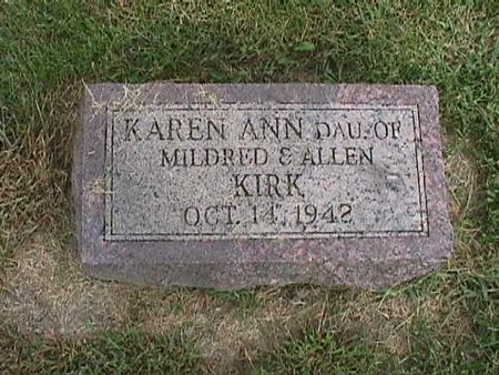 KIRK, KAREN ANN - Henry County, Iowa | KAREN ANN KIRK