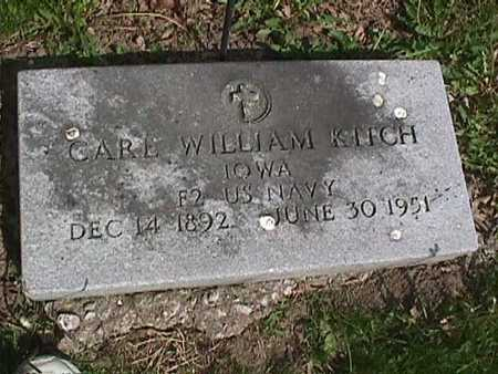 KITCH, CARL WILLIAM - Henry County, Iowa | CARL WILLIAM KITCH