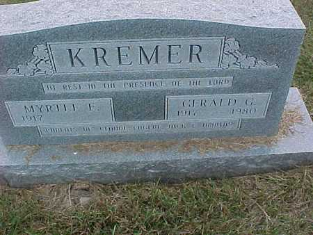 KREMER, MYRTLE - Henry County, Iowa | MYRTLE KREMER