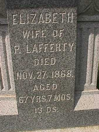 LAFFERTY, ELIZABETH - Henry County, Iowa | ELIZABETH LAFFERTY