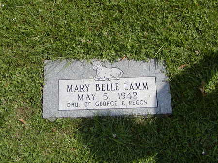 LAMM, MARY BELLE - Henry County, Iowa | MARY BELLE LAMM