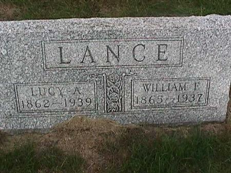 LANCE, WILLIAM F. - Henry County, Iowa | WILLIAM F. LANCE