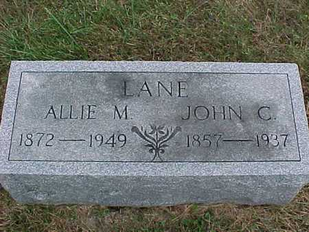 LANE, ALLIE - Henry County, Iowa | ALLIE LANE