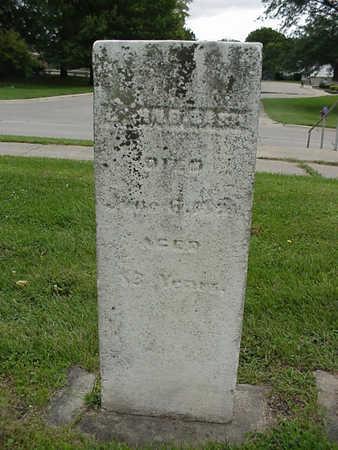 LASH, JOHN B. - Henry County, Iowa | JOHN B. LASH