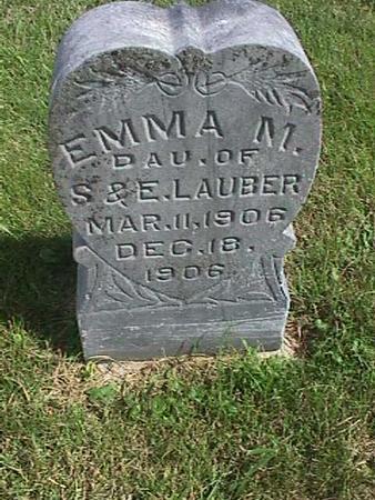 LAUBER, EMMA - Henry County, Iowa | EMMA LAUBER