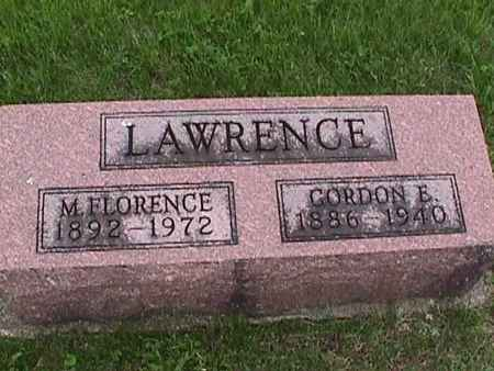 LAWRENCE, M. FLORENCE - Henry County, Iowa | M. FLORENCE LAWRENCE