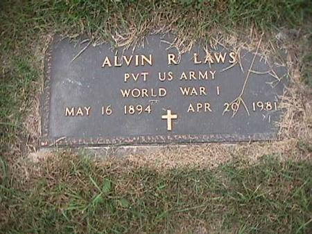 LAWS, ALVIN - Henry County, Iowa | ALVIN LAWS