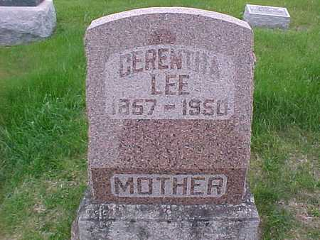 LEE, CERENTHA - Henry County, Iowa | CERENTHA LEE
