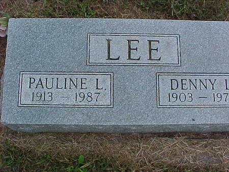 LEE, PAULINE - Henry County, Iowa | PAULINE LEE