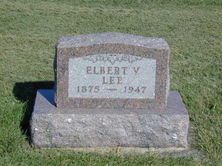 LEE, ELBERT V. - Henry County, Iowa | ELBERT V. LEE