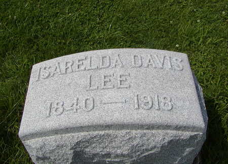 DAVIS LEE, ISARELDA - Henry County, Iowa | ISARELDA DAVIS LEE