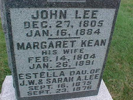 LEE, MARGARET - Henry County, Iowa | MARGARET LEE