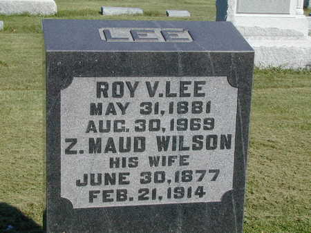 LEE, ROY V. - Henry County, Iowa | ROY V. LEE