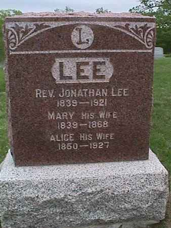 LEE, MARY - Henry County, Iowa | MARY LEE