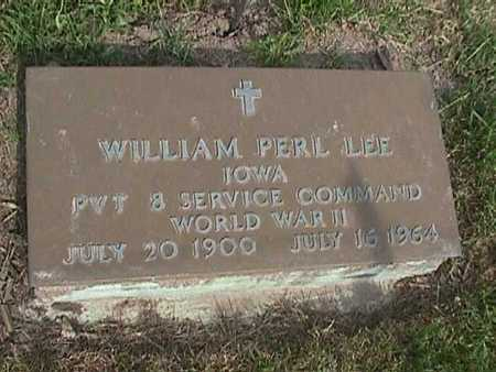 LEE, WILLIAM PERL - Henry County, Iowa | WILLIAM PERL LEE