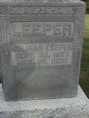 LEEPER, JULIANN - Henry County, Iowa | JULIANN LEEPER