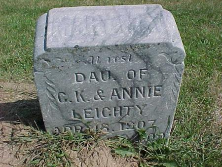LEICHTY, DAUGHTER - Henry County, Iowa | DAUGHTER LEICHTY