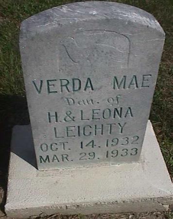 LEICHTY, VERDA MAE - Henry County, Iowa | VERDA MAE LEICHTY