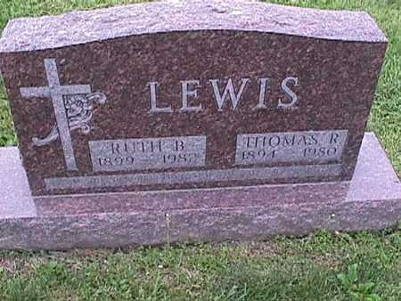 LEWIS, THOMAS - Henry County, Iowa | THOMAS LEWIS