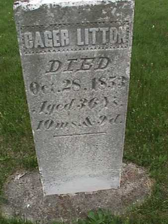 LITTON, CAGER - Henry County, Iowa | CAGER LITTON
