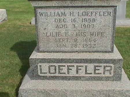 LOEFFLER, LILIE E - Henry County, Iowa | LILIE E LOEFFLER