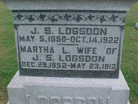 LOGSDON, MARTHA - Henry County, Iowa | MARTHA LOGSDON