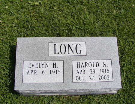 LONG, HAROLD N - Henry County, Iowa | HAROLD N LONG