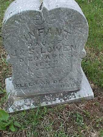 LOWEN, INFANT DAUGHTER - Henry County, Iowa | INFANT DAUGHTER LOWEN