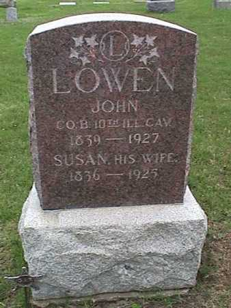 LOWEN, JOHN - Henry County, Iowa | JOHN LOWEN