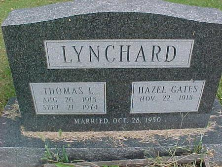 GATES LYNCHARD, HAZEL - Henry County, Iowa | HAZEL GATES LYNCHARD